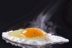 Αυγά μάτια haute cuisine