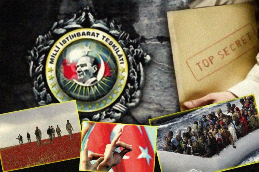 Λαθρομετανάστες Τουρκία MIT Ναρκωτικά