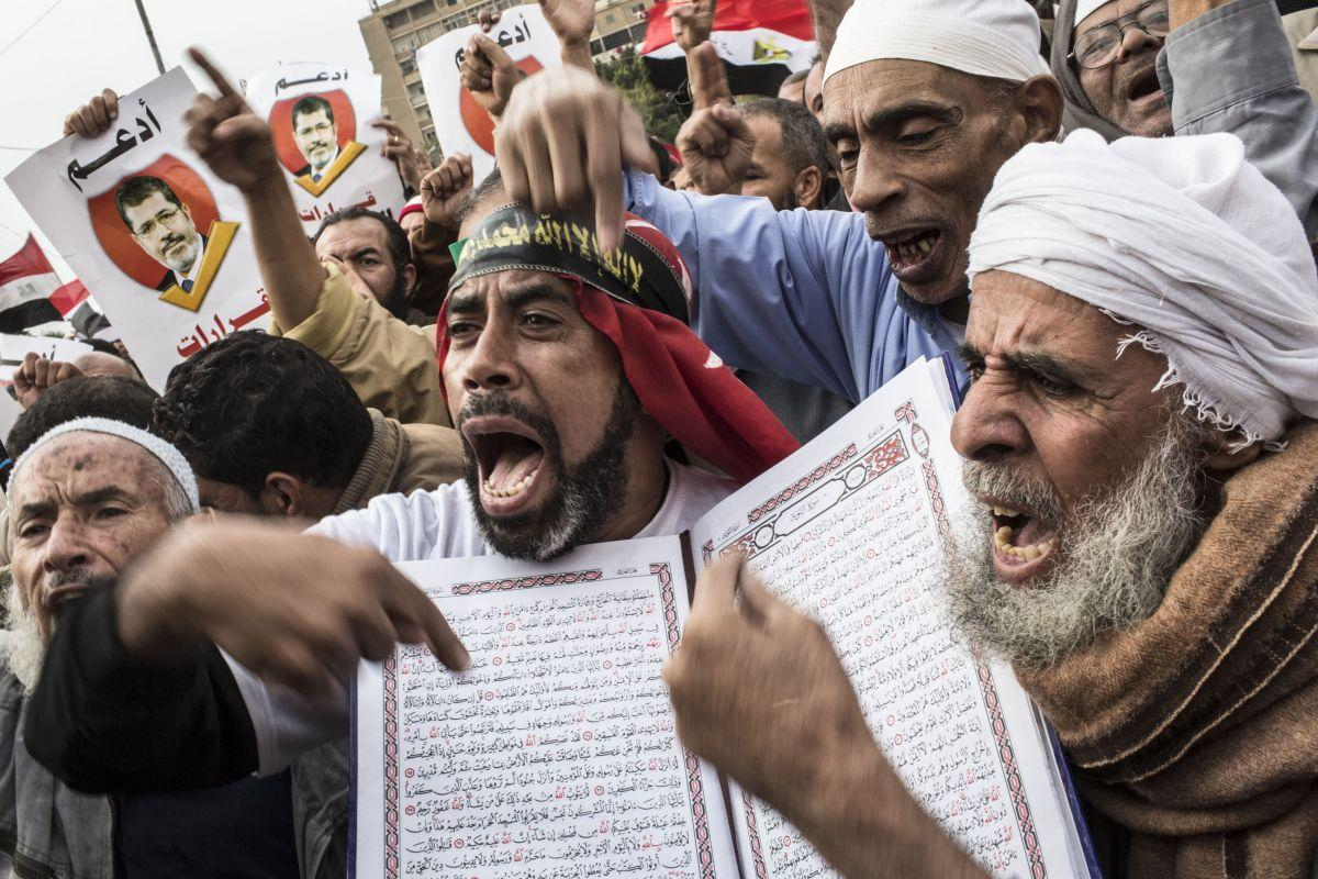 (FILE) Egypt Interim Government Declares Brotherhood A 'Terrorist Group'