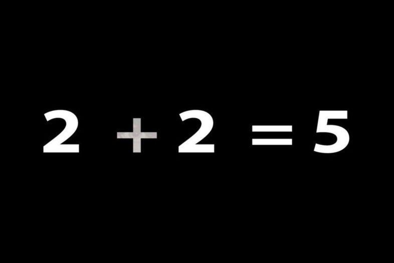 2 + 2 = 5