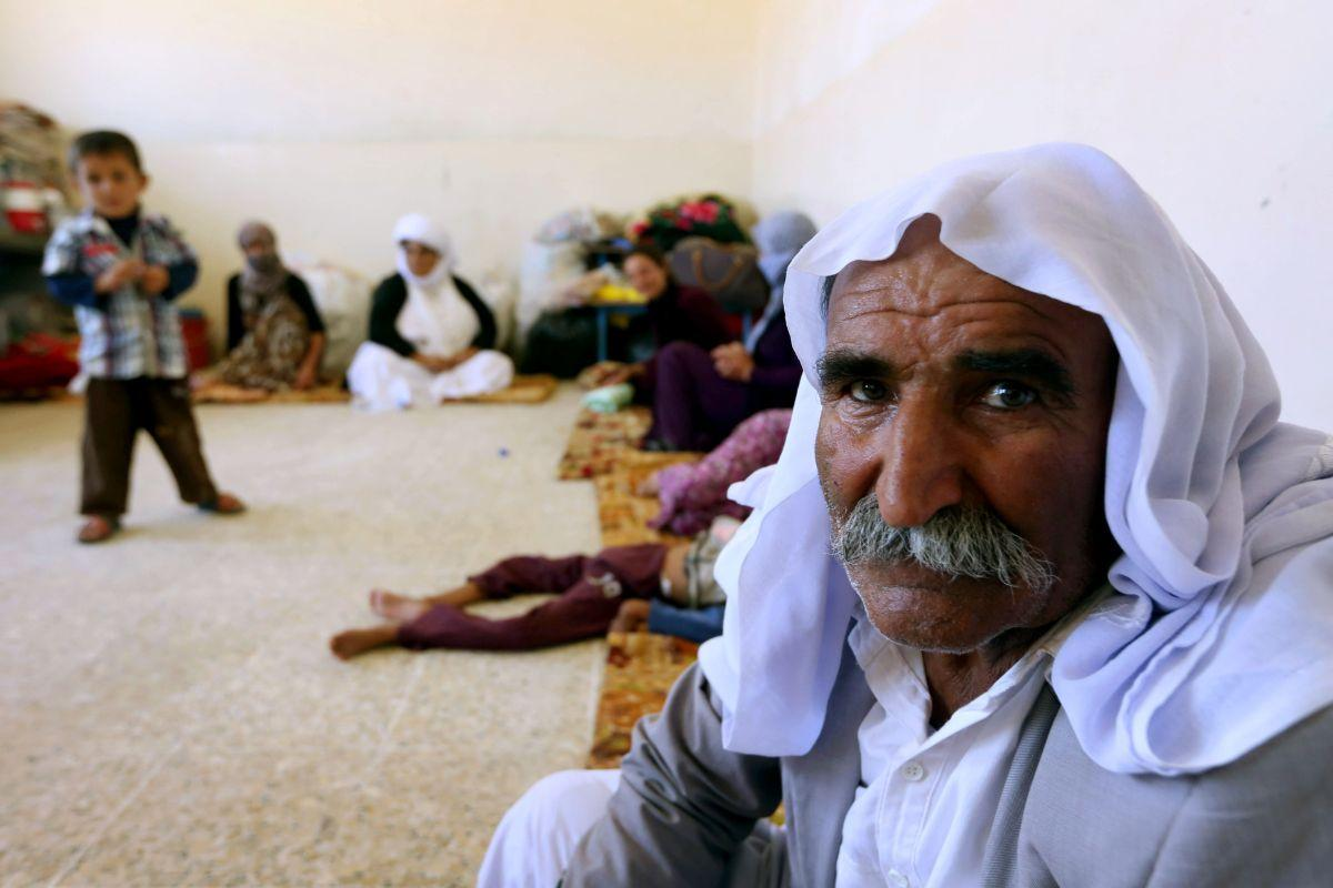 IRAQ-UNREST-YAZIDIS-RELIEF-FILES