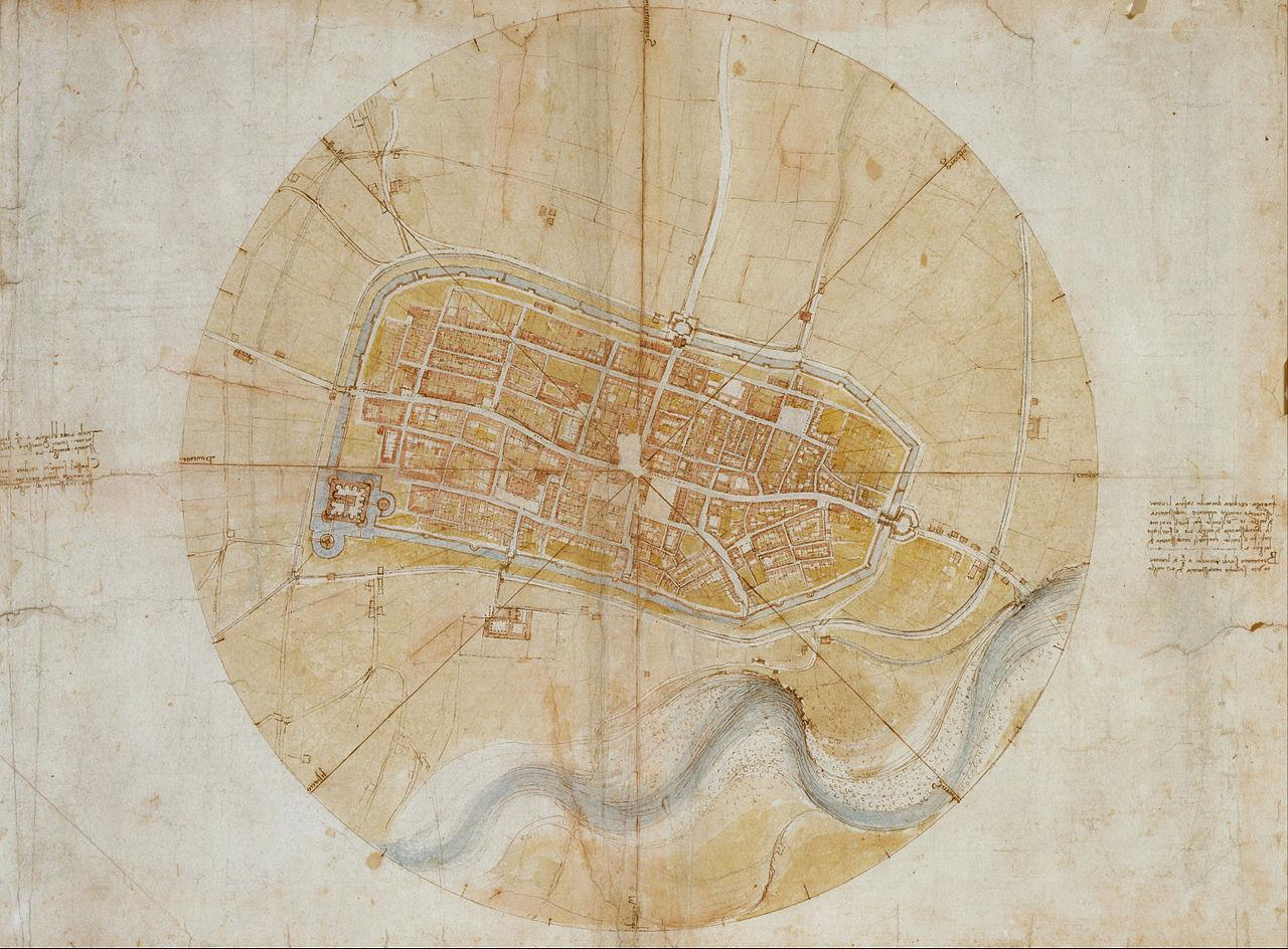 1280px-Leonardo_da_Vinci_-_Plan_of_Imola_-_Google_Art_Project