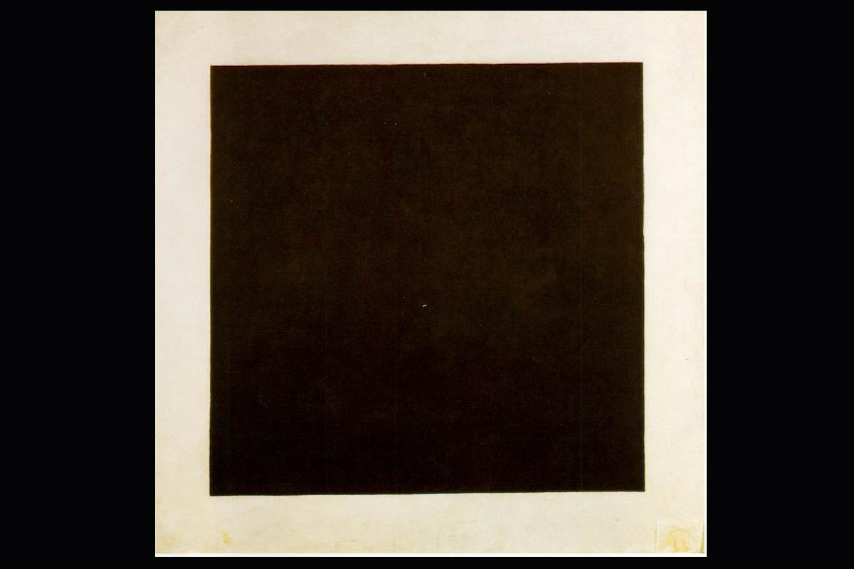 Malevich Black square on white 1913