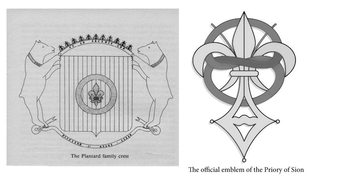 The official emblem of the Priory of Sion
