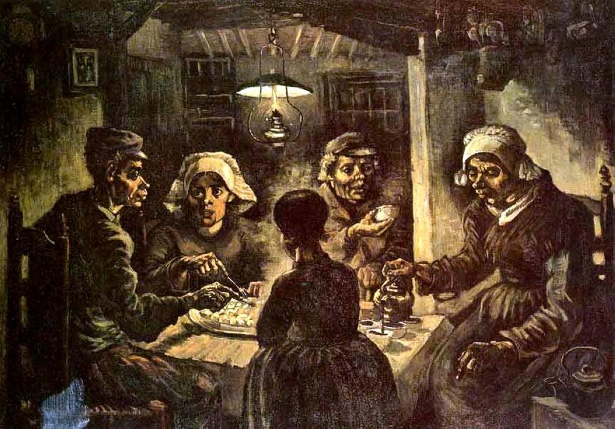 Van Gogh The Potato Eaters 1885