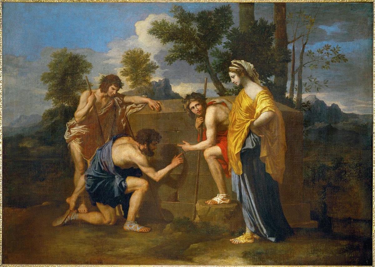 terrapapers.com- Et in Arcadia ego Nicolas_Poussin