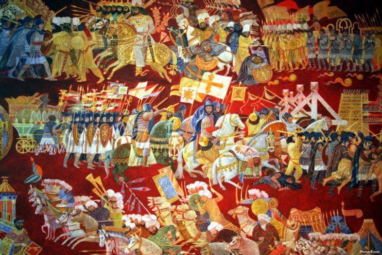 Σκυθόπολη και Σταυροφορίες: Θρησκευτικό Πλιάτσικο