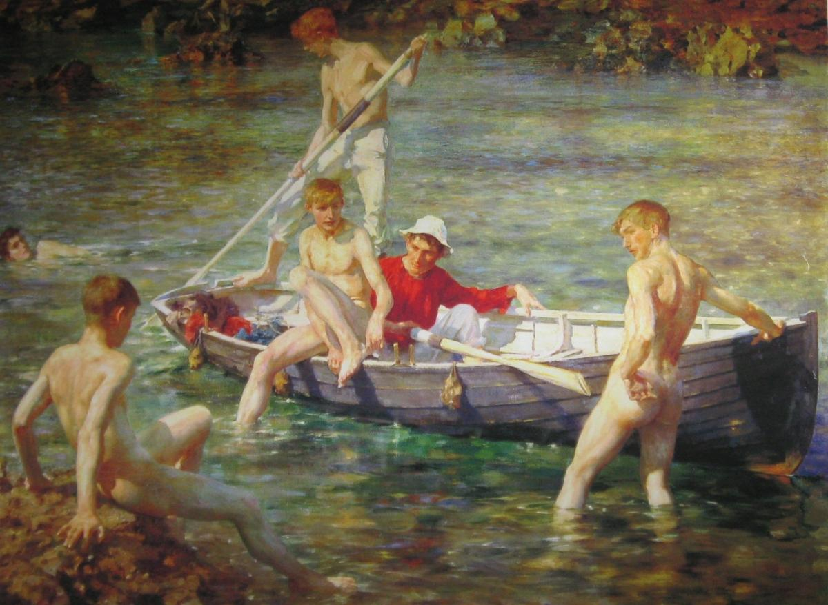 tuke_henry_scott_ruby_gold_and_malachite_1902
