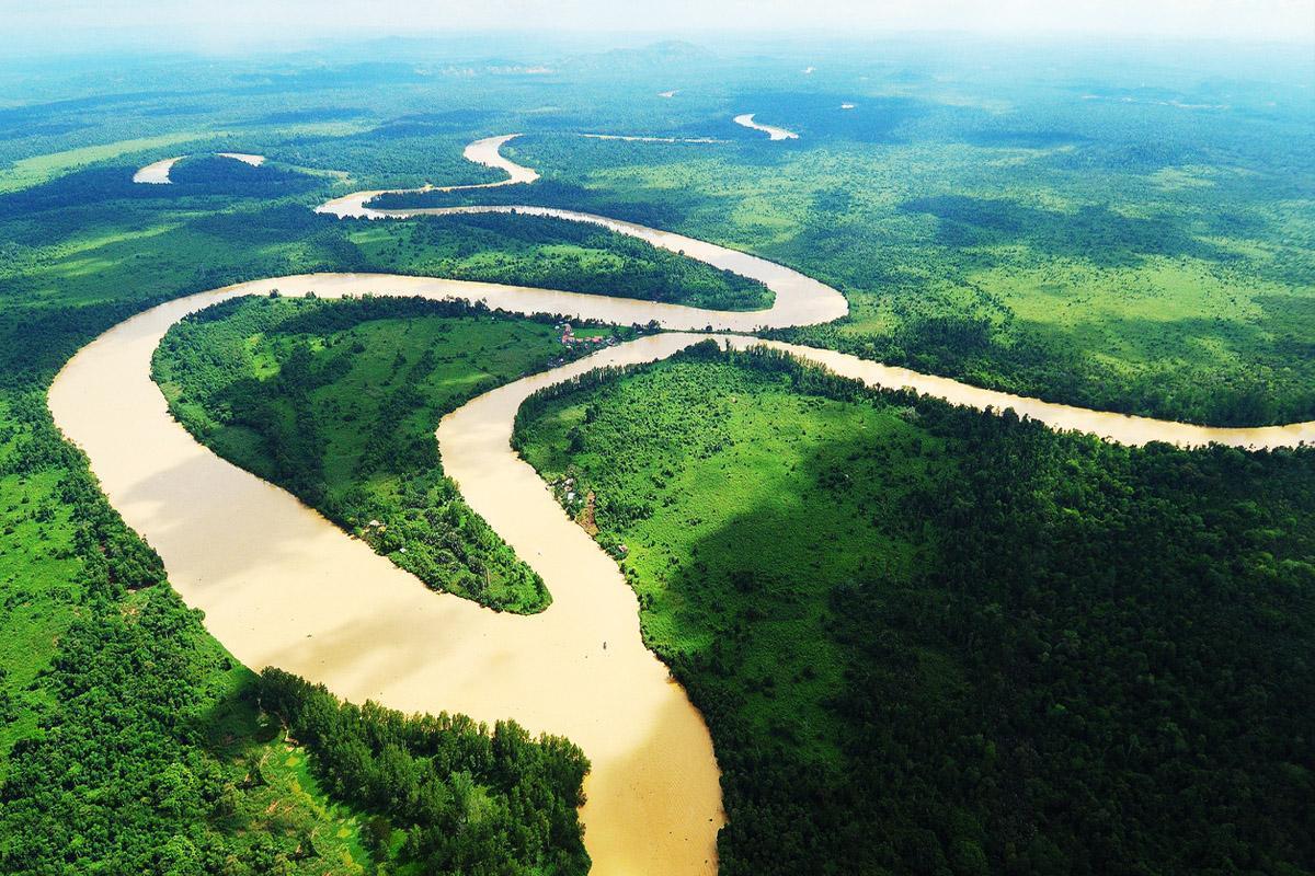 Malaysia Kinabatangan-River-at-Sukau