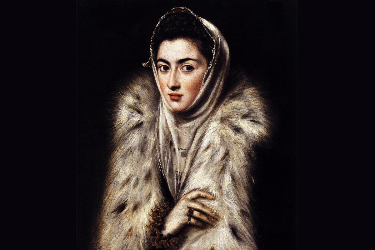 terrapapers.com-Lady with fur el greco