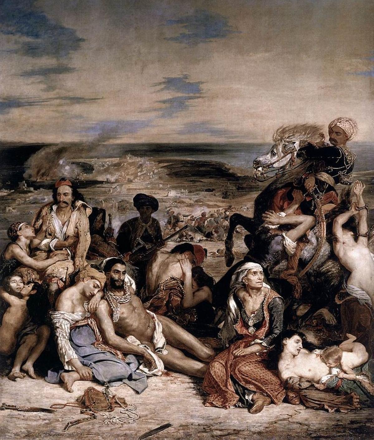 terrapapers.com_Eugene Delacroix Le_Massacre de Scio