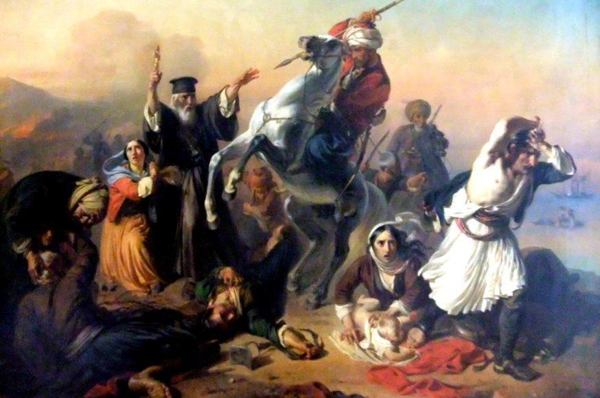 Καταστροφή και Σφαγή της Χίου