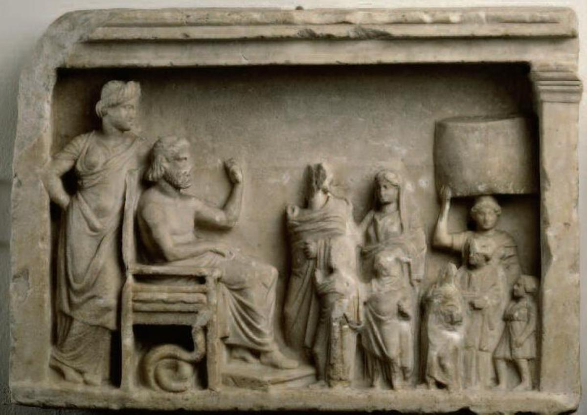 relief-a-asclepios