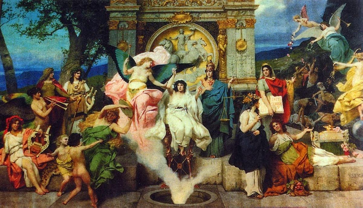 DELFHOI PYTHYA TRIPODAS