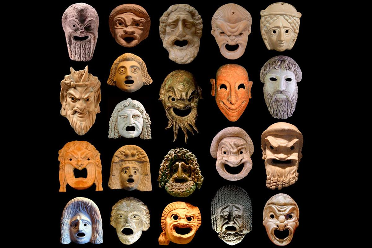 Aristophanes Masks