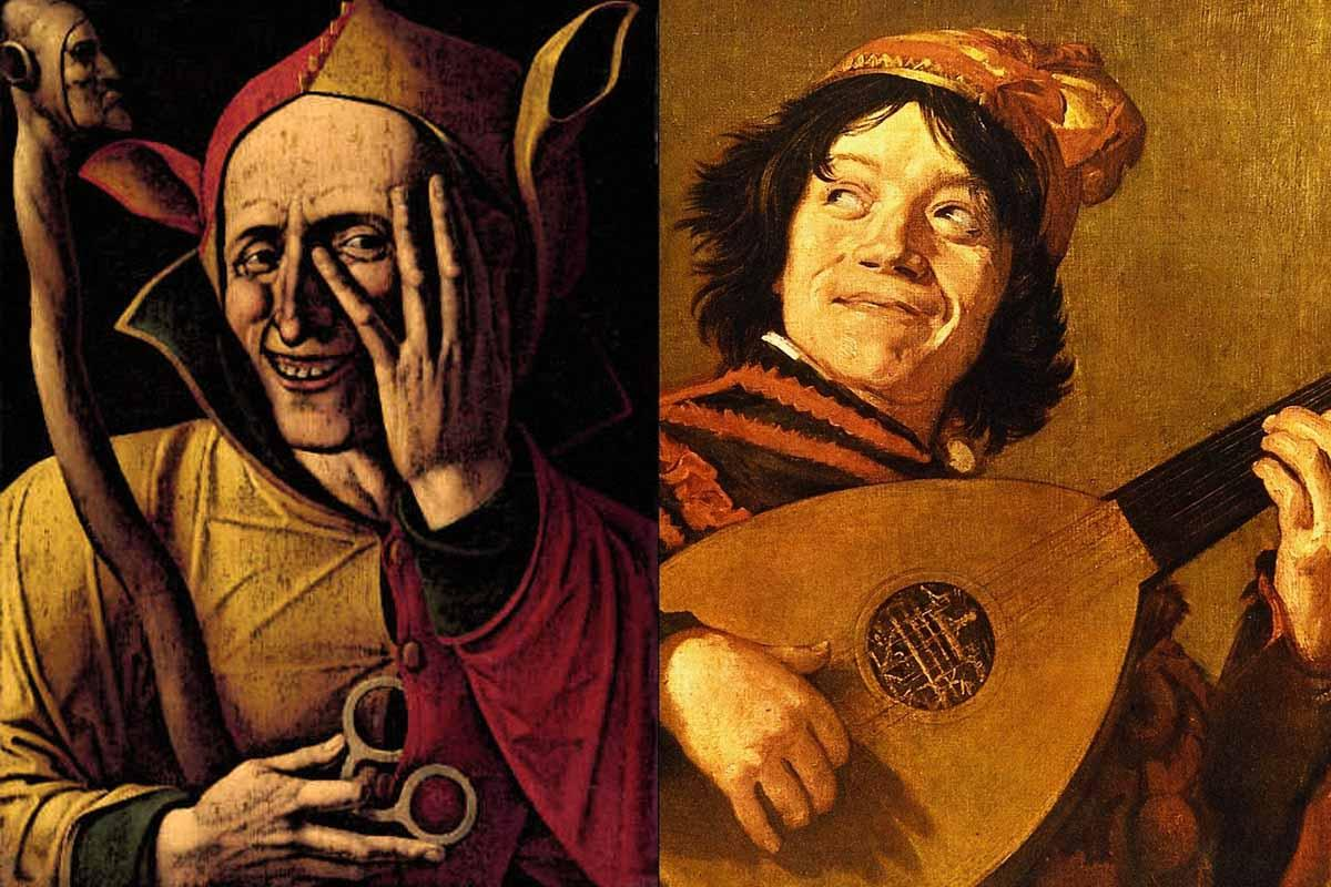 The jesters of the Middle Ages 1