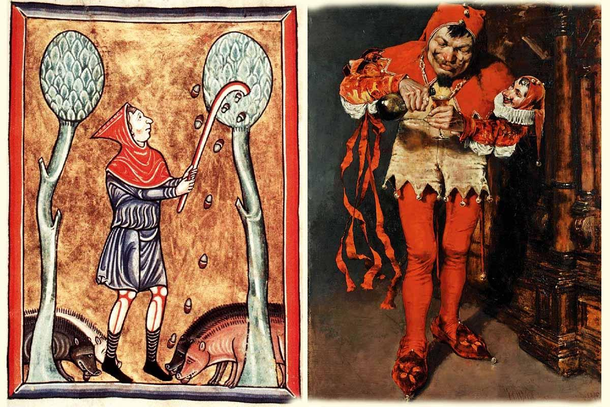 The jesters of the Middle Ages 3