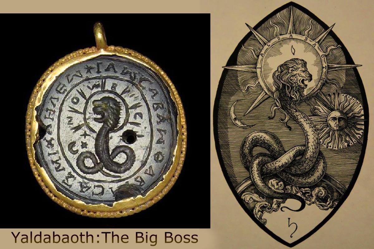 Yaldabaoth the Big Boss