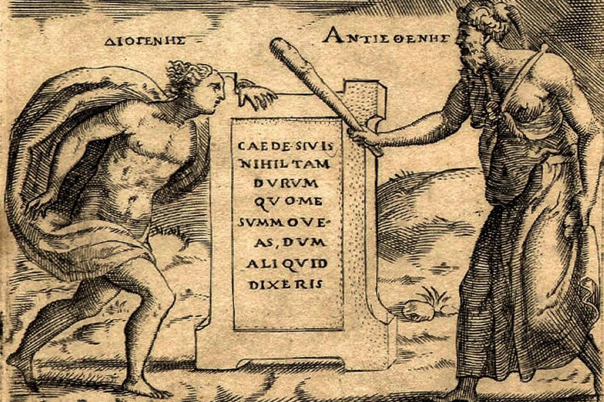 Giulio_Bonasone_Diogenes_and_Antisthenes_detail