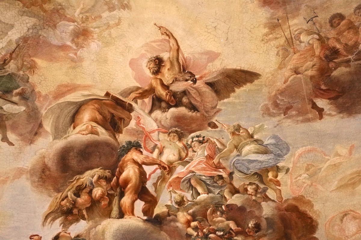 The gods of Olympus 1