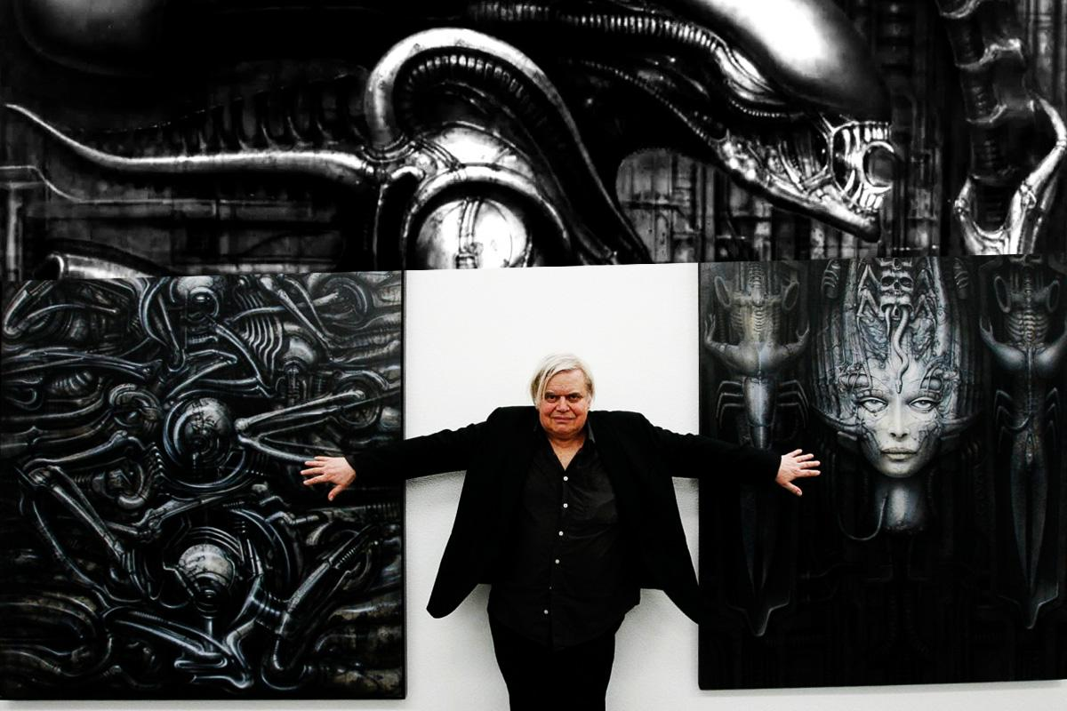 8 alien by H. R. Giger