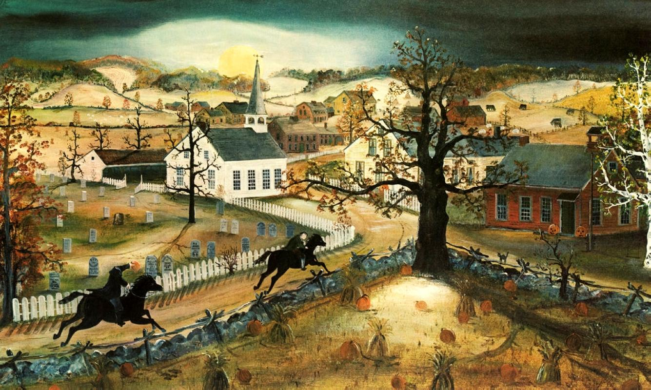 John_Quidor_-_The_Headless_Horseman_Pursuing_Ichabod_Crane 1