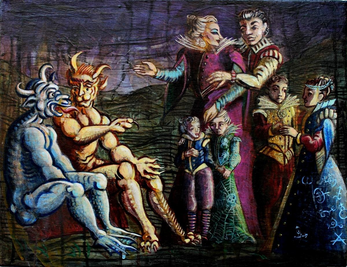 Malleus Maleficarum wallpurgism 7