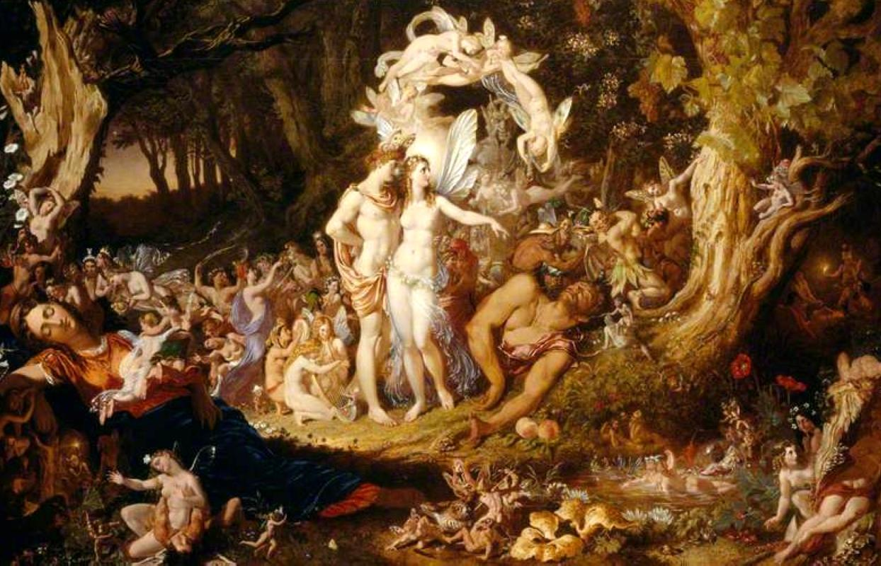 Paton, Joseph Noel, 1821-1901; The Reconciliation of Oberon and Titania
