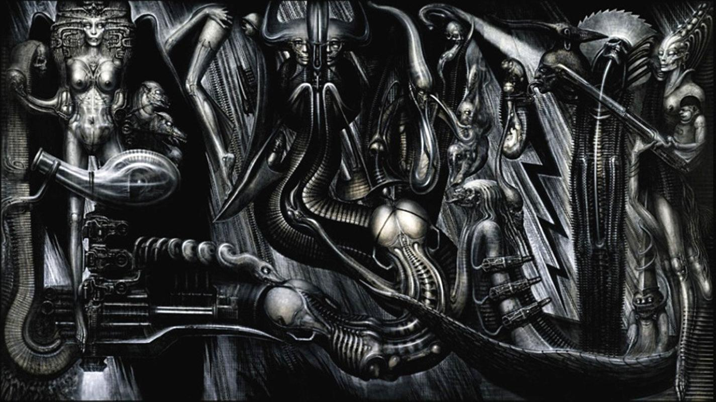 alien by H. R. Giger (5)