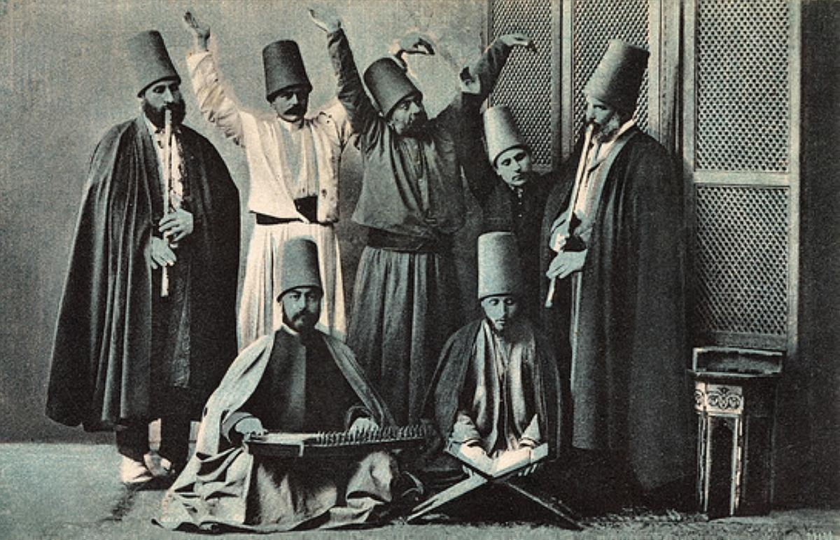Constantinople - Whirling Dervish Group