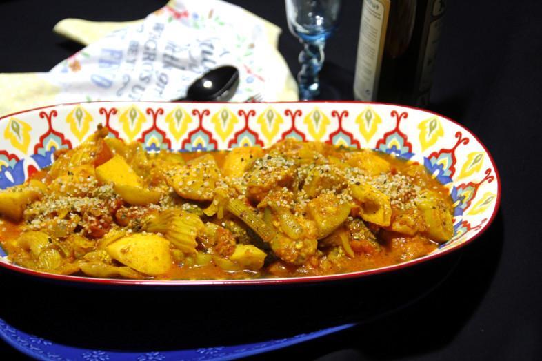 Λαχανικά Γιαχνί Καυτά & Ζουμερά