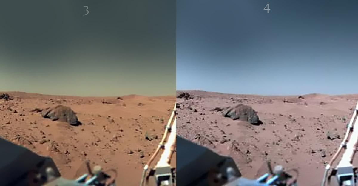 TRUE COLOR OF MARS 1