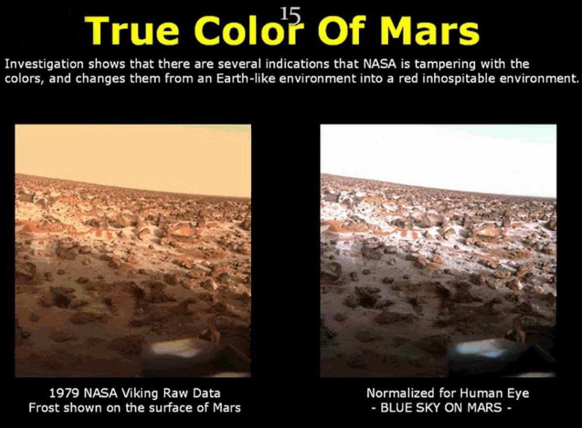 TRUE COLOR OF MARS