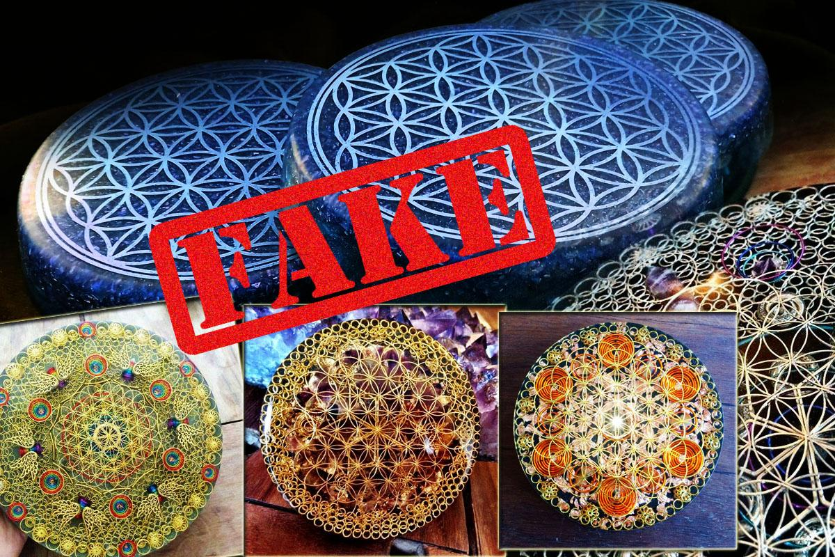 Flower of Life fake orgonite