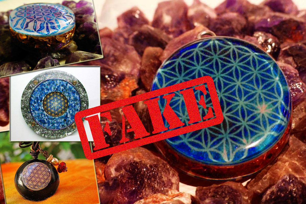 Flower of Life fake orgonite 3