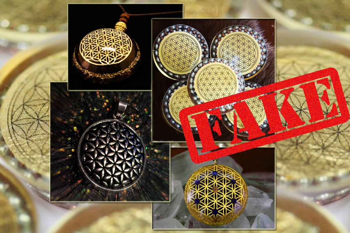 Flower of Life fake orgonite 5
