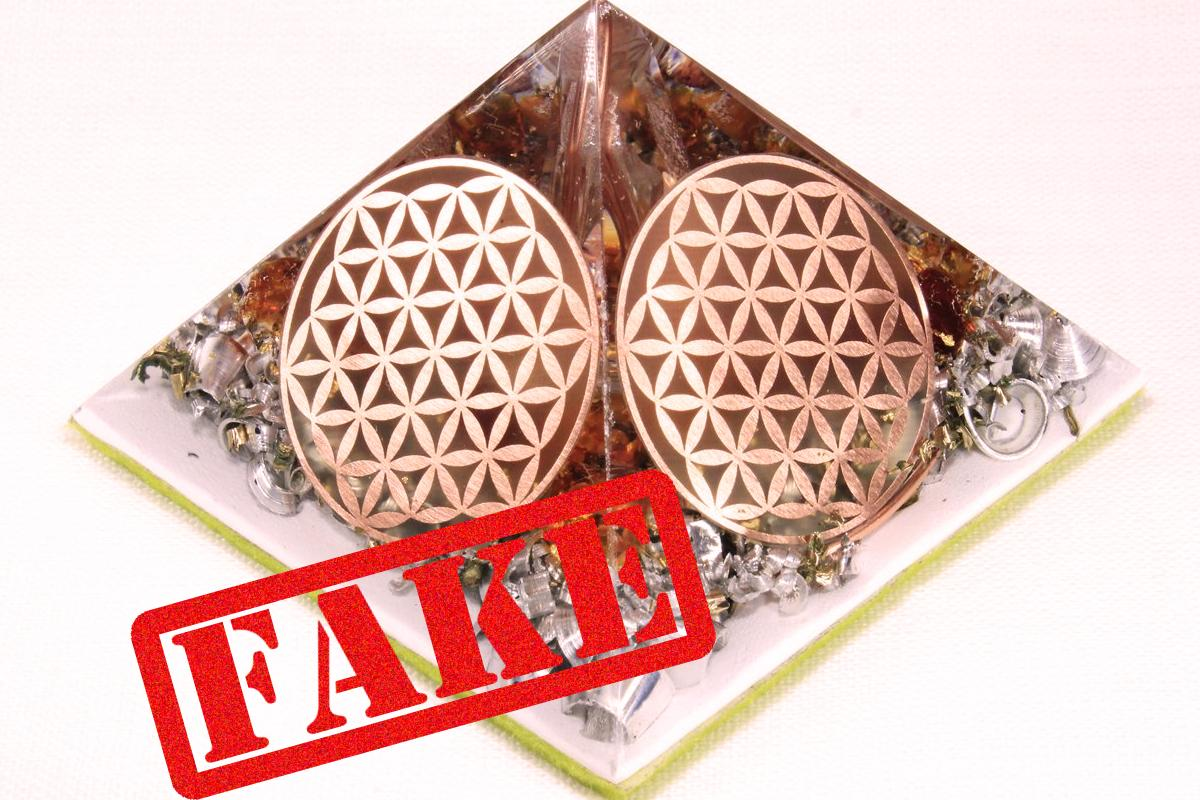 Flower of Life fake orgonite 8