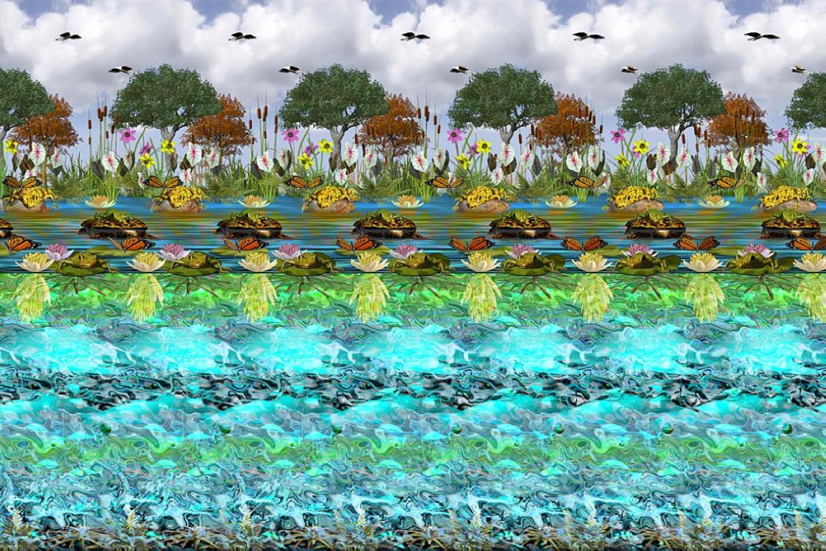 wallpaper stereogram 2