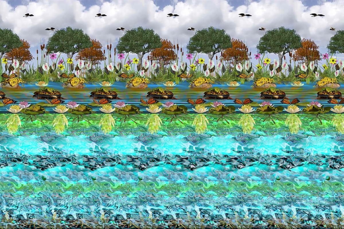 wallpaper stereogram 2
