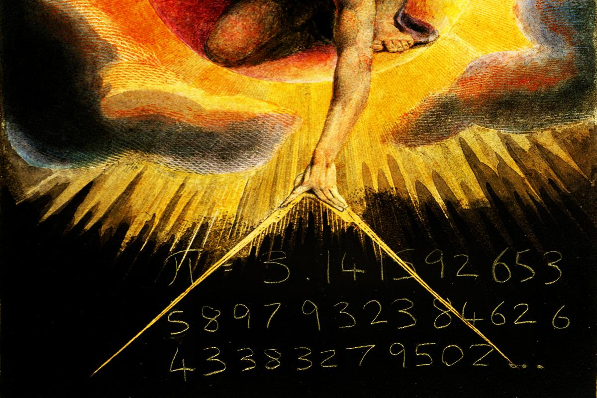 William Blake The Number of the Beast is 666 + -