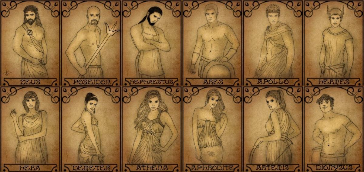 the_twelve_olympians_