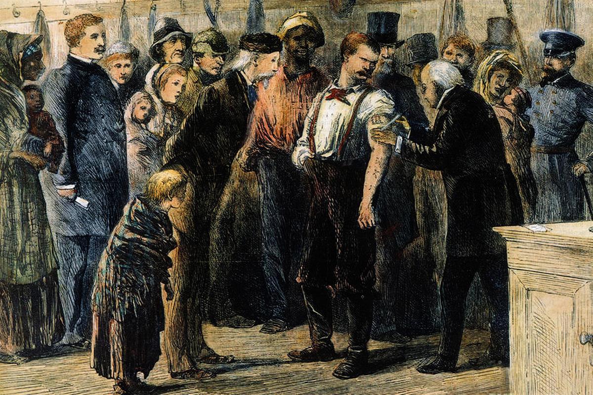 smallpox vaccination 1872
