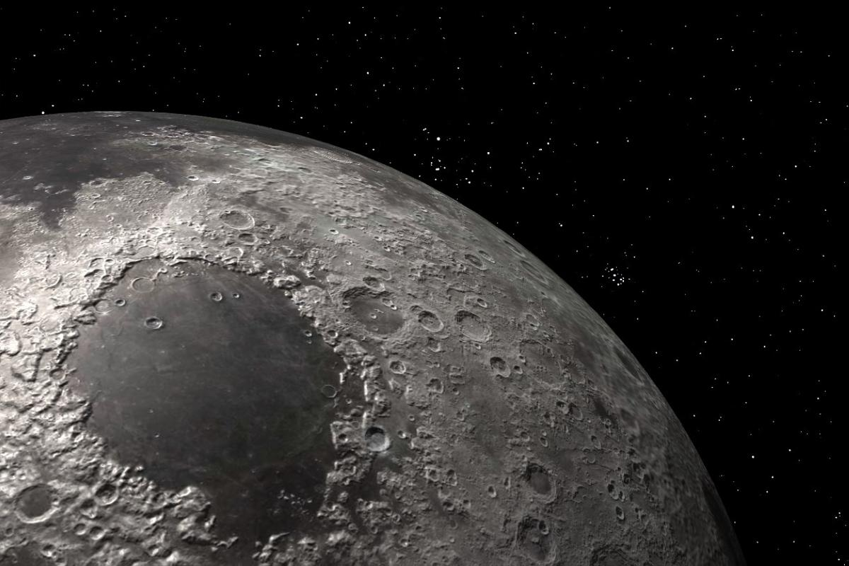 Mare Crisium moon
