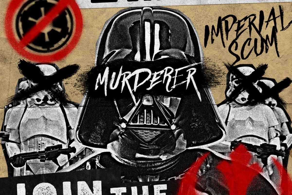 How To Make Graffiti Posters How To Create A Grungy Star Wars Propaganda Poster In Photoshop